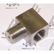 "9/16"" 90 degree Abrasive Inlet Adapter"